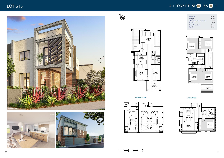 Floorplan-Lot 615
