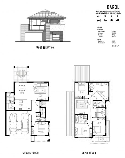BAROLI FLOOR PLANS_ FRONT ELEVATION-page-001