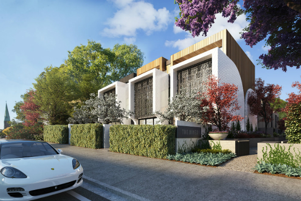 """""""The Nines"""" 155 Willoughby Rd, Naremburn NSW 2065 (9 Lots of Tri-Level Townhouses)"""